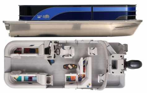 2021 SunCatcher SELECT 22RF Power Pontoon