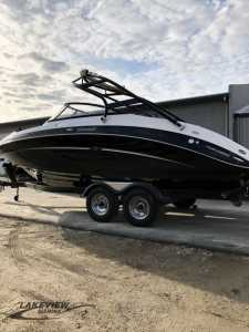 View 2014 Yamaha Marine 242 Limited S With Painted Trailer - Listing #192263