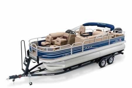 View 2021 Sun Tracker Fishin' Barge 22 DLX - Listing #193955