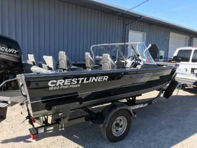 View 2017 CRESTLINER 1850 FISH HAWK WT - Listing #197942