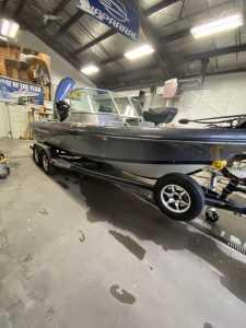 2015 Warrior Boats V193 Power Fishing