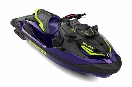 View 2022 Sea-Doo RXT-X 300 Midnight Purple - Listing #285562
