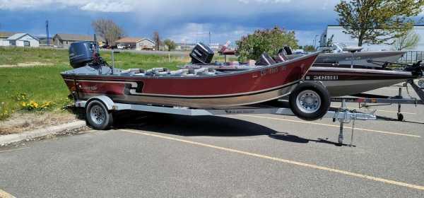View 2017 Hyde Drift Boats Hyde Power Drifter - Listing #292754