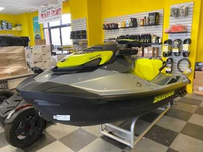 2021 Sea-Doo GTI SE 170 With iBR Two Seater Personal Watercraft