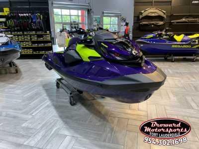 View 2021 Sea-Doo RXP®-X® 300 IBR & Sound System Midnight Purple - Listing #302844