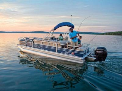 View 2020 Sun Tracker Fishin' Barge 22 DLX - Listing #80260